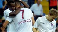 Trabzonspor, Cardozo ile güldü