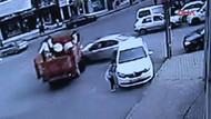 Bu kazadan sağ kurtuldu!