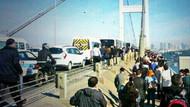 İstanbul trafiği kilitlendi, insanlar yürüyor!