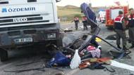 Yozgat'ta katliam gibi kaza