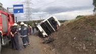 İstanbul'da otobüs kazası: 22 yaralı