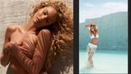 Candice Swanepoel'den üstsüz poz