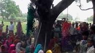 Yine tecavüz edip ağaca astılar