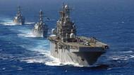 ABD savaş gemisi Basra'da
