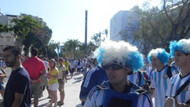 Arjantin - Bosna Hersek maçı öncesi renkli görüntüler
