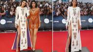 Kırmızı Halı'da Kendall Jenner şovu