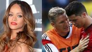 Ronaldo'yu Rihanna teselli etti