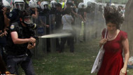 Kırmızılı kadın, Erdoğan'dan şikayetçi oldu