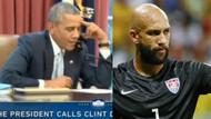 Obama'dan Tim Howard'a: O sakalları kes yoksa..
