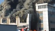 Çorlu kimyasal fabrikasında büyük yangın