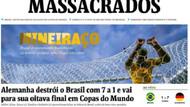 Brezilya gazetelerinde büyük utanç.. Katledildik