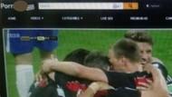 Brezilya maçını porno siteye yüklediler