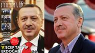 Erdoğan magazin dergisine kapak oldu