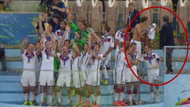 Mesut'un formasını kim aldı?