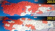 İşte Türkiye'nin bonzai haritası