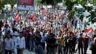 Gaziantep'te Suriyelileri istemiyoruz protestosu.. 20 gözaltı