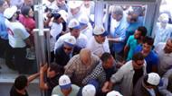 Banka'da Erdoğan'a bağış izdihamı