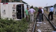 Otobüs devrildi! 8 ölü 41 yaralı