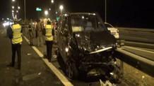 AK Parti Milletvekili kazada yaralandı!