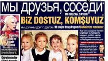 Kayyum yönetimindeki Bugün'den Rusça manşet