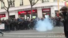 Paris'te polis müdahalesi