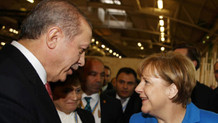 Erdoğan ve Merkel'in zirve sohbeti