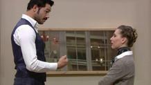 Kısmetse Olur'da Serhan ve Daniela'dan şok kavga!