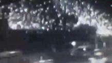 Bayrampaşa'da patlama anı kamerada