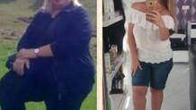 168 kilodan 44 kiloya düştü