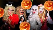 İstanbul'da cadılar bayramı partisi