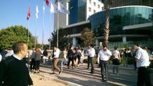 Antalya Ticaret ve Sanayi Odası binası otoparkında patlama