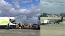 Atatürk Havalimanı'nda uçak ile kamyon çarpıştı
