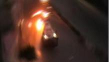 Polis aracının geçişi sırasında bomba patlatıldı