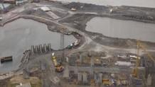 10 futbol sahası büyüklüğündeki yat limanı mühürlendi