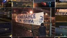 İstanbul'un her yanına Aziz Yıldırım pankartları: Fenerbahçe için istifa!