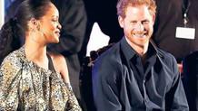 Prens Harry Rihanna'yı gözüne kestirdi