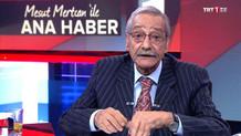 Huzurevinde yaşayan eski usta spiker Mesut Mertcan TRT'de ana haber sundu