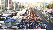 Trafiği isyan ettiren Mecidiyeköy: Çin Mecidiyeköy'ü görse diz çöker tövbe ister
