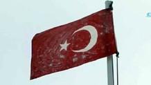 TSK'nın sosyal medyadan paylaştığı bayrak olay oldu