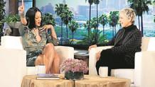 Rihanna: Çıplak selfie çektim