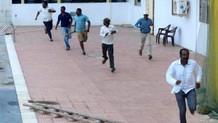 Okulda vahşi leopar dehşeti