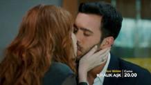 Kiralık Aşk 44. bölüm fragmanında şoke eden öpüşme sahnesi