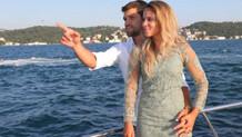 Fenerbahçeli Ribas ve eşi Leticia Ribas Taksim'de tacize uğradı!