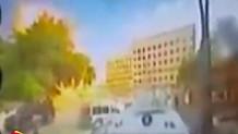 Gaziantep'teki bombalı aracın patlama anı kamerada