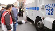 İstanbul'da TOMA'nın çarptığı adam hayatını kaybetti!