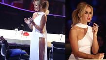 Britain's Got Talent'da Amanda Holden'ın olay yaratan elbisesi!