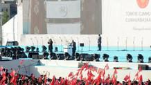 Başbakan Yıldırım ve TBMM Başkanı Kahraman fetih şöleninde