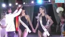 Güzellik yarışmasında skandal