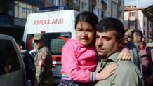 Acı haberi alan şehit kızı gözyaşı döktü