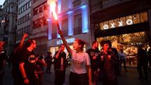 Gezi olaylarının 3. yıldönümünde Taksim'de eylem...